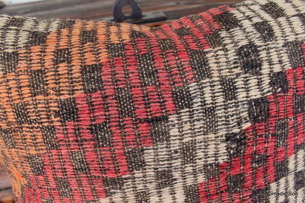 Vintage kilim cover - 45cm #20