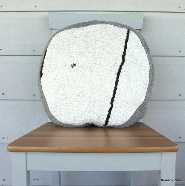 Seat Pad / Chair Cushion / Round Gusseted Cover #SC5