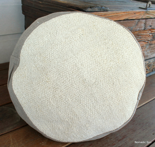 Seat Pad / Chair Cushion / Round Gusseted Cover #SC6