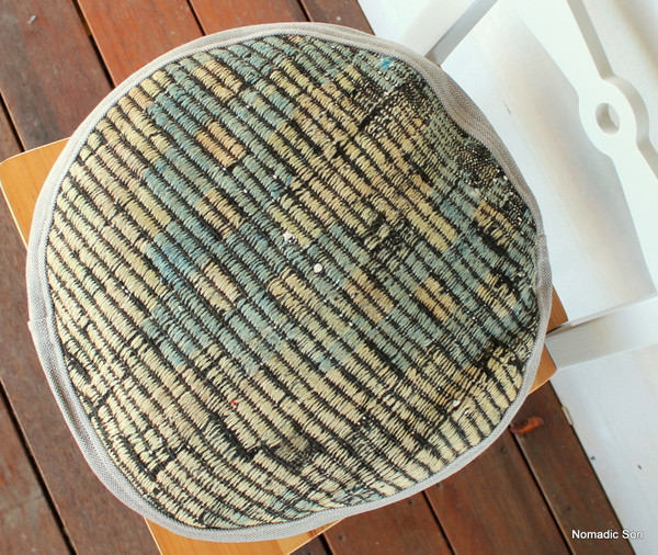 Seat Pad / Chair Cushion / Round Gusseted Cover #SC15