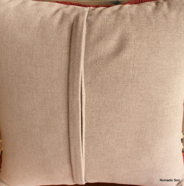 Vintage kilim cover - small (40*40cm) #257-