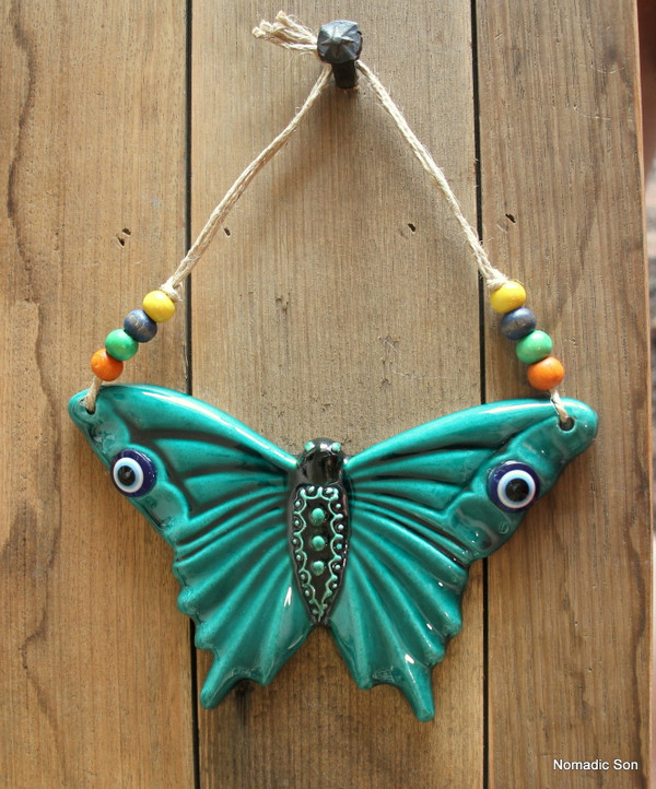 'Firuze' Wall Hanging - Butterfly