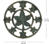 Cast Iron Plant Stand - Flower Pot Stand : Keeps Your Plant & Flower Pots Off The Ground