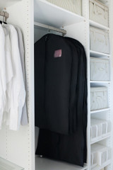 Black Dress / Coat Cover