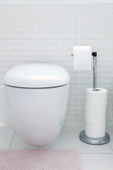 Pristine Free Standing Toilet Roll Holder