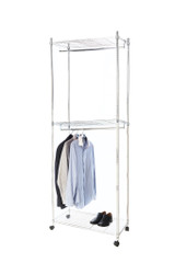 2 Tier Clothes Rail