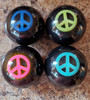 Large Colorful PEACE Sign Shift Knob