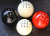 Engraved Shift Pattern Shift Knob - 3 speed, 4 speed, 5 speed, 6 speed Patterns  (allow 4-6 weeks)