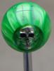HURST 4 Speed 4RUL- Green Pearl Skull Shift Knob