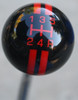 Shown here is the RALLY I shift knob with the 5RUR shift Pattern with Inlay finish.