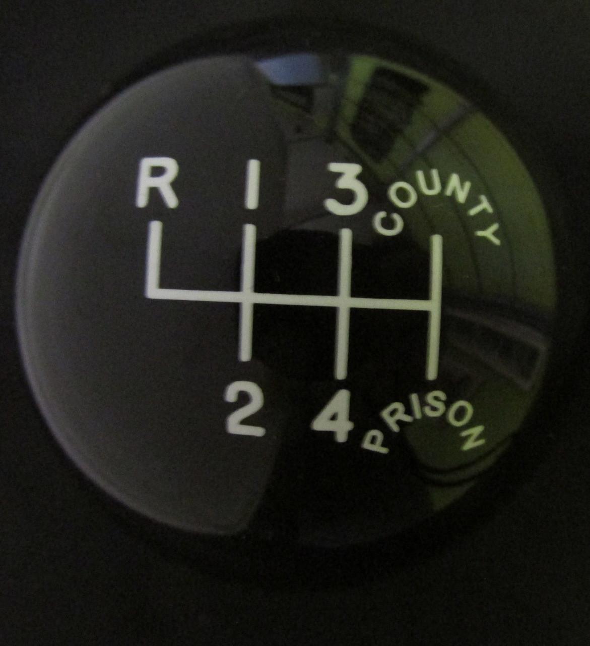Polished Brass Weighted Shift Knob 1 7//8 Diameter x 3//8-16 Thread