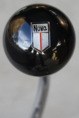 Chevy Nova Emblem Shift Knob