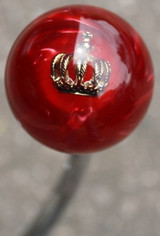 Pearly Red Crown Shift Knob