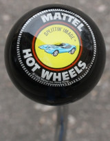 "Vintage Hot Wheels ""Splittin' Image"" Shift Knob"