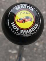 "Vintage Hot Wheels ""Python"" Shift Knob"