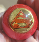 Classic Superman - Red Shift Knob - Distressed
