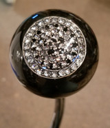 Vintage Rhinestone Black Shift Knob