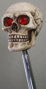 Red Eyed Skull Shift Knob