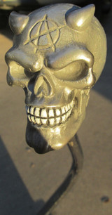 Pewter Colored  Devil Skull Shift Knob