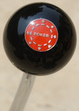 Poker Gambling Shift Knob