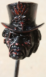"""Blood Stone"" Distressed Zombie Shift Knob"