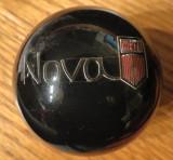Nova Logo Script Black Shift Knob