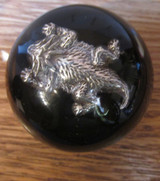 Horned Pewter Lizard Shift Knob