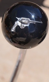 Chrome Pistol Shift Knob