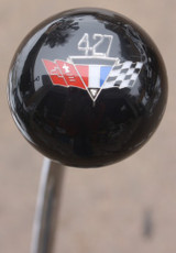 Chevy 427 Racing Flags Shift Knobs