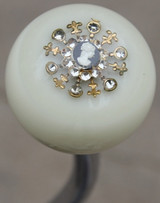 Gorgeous Vintage Cameo Brooch Shift Knob