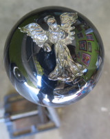 Gorgeous Pewter Guardian Angel Shift Knob
