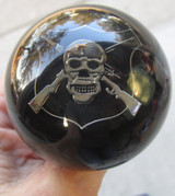 Airborne Special Ops Skull Rifles Shift Knob