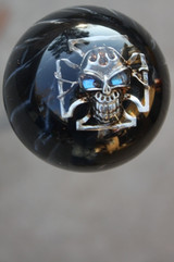 THE KNOB IN-STOCK Does not have Blue Shiny eyes, just Black -
