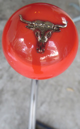 Orange Longhorn Shift Knob