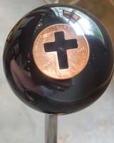2011 Copper Penny Cross Shift Knob