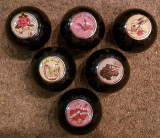 Love, Sweet Heart,Skull w/Rose,Lady Luck,Panther,True Love