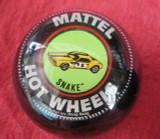 "Vintage Hot Wheels ""Custom Snake"" Funny Car Shift Knob"