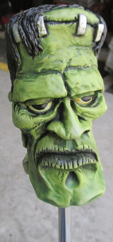 Van Chase Green Frankenstein Shift Knob