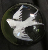 "Gorgeous Mother of Pearl Swallow/Dove Bird (Large 3"")"