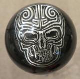 Biker Pewter  Sugar Skull Shift Knob
