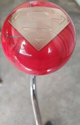 Red/Blue Splash Classic Superman Shift Knob