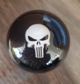 White Punisher Skull USMC Shift Knob