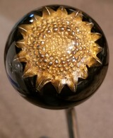 Vintage Monet Sunflower Flower Earring Shift Knob
