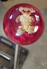 Vintage Golden Rhinestone AVON Bear Shift Knob