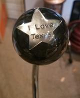 """""""I Love Texas"""" Texas Pride Shift Knob"""