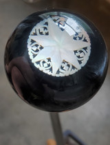 Vintage Mother of Pearl Star Earring Shift Knob