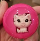 Cute Hot Pink  Kitty Kitten Cat Shift Knob