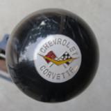 Corvette Shift Knob Crossed Flags #3 Shift Knob