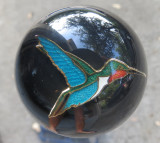 Cloisonne Hummingbird Shift Knob