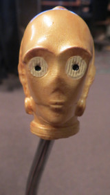 C3PO Star Wars Resin Shift Knob